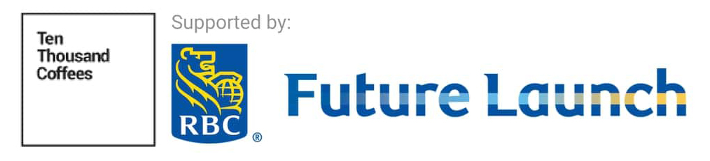 Ten Thousand Coffees and RBC Future Launch logo